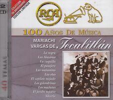 Mariachi Vargas de Tecalitlan 2CD New Nuevo 100 Anos CAJA DURA