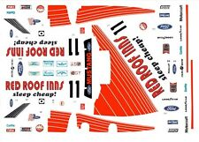 #11 Red Roof Inns Roush Racing Mustang 1/24th - 1/25th Scale Waterslide Decals