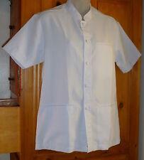 a0ac628e6e5 Nouvelle annonce Pale Lilac UNIFORM TOP LOT Mandarin Collar; Button Down 3  Pockets Bust 40 size S