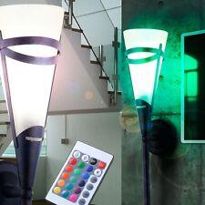 LED RVB MUR Torche Lumière 71cm intensité variable Style De Maison campagne