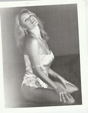 MISC-3342 8x10 B&W PHOTO - ACTRESS in NIGHT GOWN - NAME ?