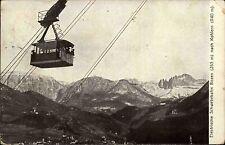 Bozen Italien Italia Trentino Südtirol AK 1914 Schwebebahn Lift Kohlern Gebirge