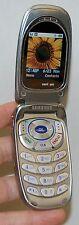 Samsung SCH-A670 Verizon SILVER Hipster Cell Phone video Camera flip easy small
