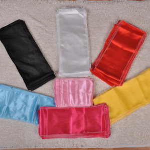 Multicolor Silk Satin Shaolin Kung Fu Belt Martial Arts Tai Chi Training Belt