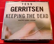 Tess Gerritsen Keeping The Dead Rizzoli & Isles 3-CD Audio SEALED Laurel Lefkow