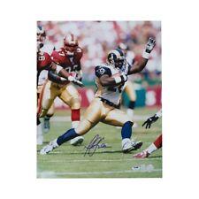 Marshall Faulk Autographed St Louis Rams 16x20 Photo - PSA/DNA COA (B)