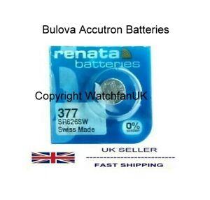 Bulova Accutron Battery For calibres 214 218 219 221 224 230