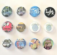 CHOOSE: Vintage 1990s Rock/Alternative Pinback Pin Button * Combine Shipping!