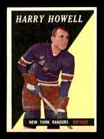 1958 Topps #60 Harry Howell  EXMT X1464564