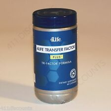 4Life Transfer Factor PLUS * Tri-Factor FORMULA 1 BOTTLE 60 caps FREE SHIPPING