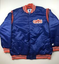 Starter Jacket Cleveland Cavaliers Mens 3XL Glll by Carl Banks Blue Vintage New