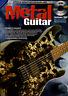 Learn How To Play METAL GUITAR TAB Tutor Sheet Music Book & CD Shop Soiled