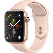 Apple Watch Series 4 44mm Gold Aluminum Case Pink Sand Sport Band GPS MU6F2LL/A
