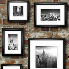 Muriva Wallpaper 102532 - New York (Manhattan) in Frames Brick Effect  NEW!!!