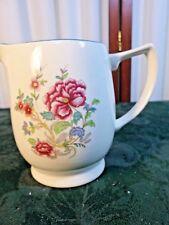Beautiful Vintage Simpson Potteries Solian Ware Floral Designed Handled Creamer