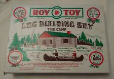 Roy Toy The Farm— Building Set—No 3—Made In USA Incomplete-50 pieces