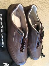 Porsche Design Adidas athletic shoes size 12.5 US Gray Leather