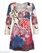 Maglie e camicie da donna Blusa multicolore in cotone