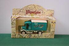 """Lilliput Lane Village Shops """"The Bakers Shop Van"""" Mint in original box."""