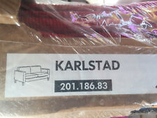 New Original IKEA Cover for KARLSTAD 2-seat Sofa Korndal Red 201.186.83