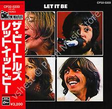 BEATLES LET IT BE CD MINI LP OBI Harrison Lennon McCartney Starr new sealed