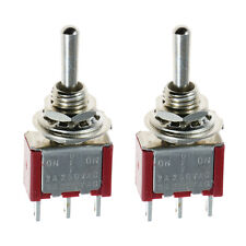 2 x On/Off/On Mini Small Toggle Switch Model Railway SPDT