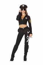 Women's Cop Police Officer Hottie Halloween Costume Genuine Roma Product S/m