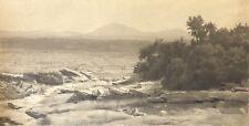 Bollène mont Ventoux Ecole provençale XIXe  62,5 cm par 33,8 cm ? Provence 1860