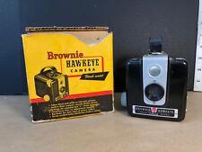 Vintage Kodak Brownie Hawkeye Flash Camera - Camera & Original Box