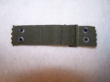Vietnam War helmet liner nape/neck straps. Unused. From a lot dated 1964.