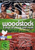 DOPPEL-DVD NEU/OVP - Woodstock - 3 Days Of Peace And Music - Director's Cut