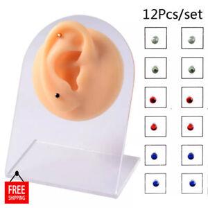 Magnet Nose Ear Stud Lip Labret Non Pierced Jewellery Magnetic Earring Piercings