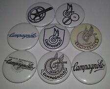 8 Campagnolo pin badges 25mm Pedel fixie bike bicycle