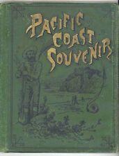 1888 PACIFIC COAST SOUVENIR ( Photographic Album)