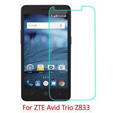 "9H Premium Tempered Glass Screen Protector Film For ZTE Avid Trio Z833 5"""