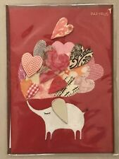 Papyrus - Valentine's Day greeting card Elephant Hearts - New in packaging