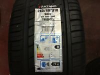 1 X NEW 245 40 18 TRAZANO SA37 TYRE 245/40 ZR18 97Y EXTRA LOAD DOT 11/19