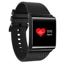 Waterproof Smart HeartRate Watch Blood Pressure Monitor Sports Bracelet X9pro*US