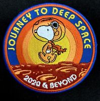 APOLLO 10'S 50th ANNIVERSARY - SNOOPY NASA  SPACE PATCH - MOON LANDING - 3.5""