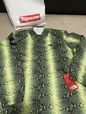 Supreme The North Face Snakeskin Coaches Jacket Green Large