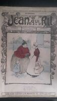 Revista Jean Que Rit N º 308 1907 Journal Demuestra que Aparecen El Viernes ABE