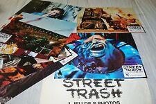 STREET TRASH !  jeu 8 photos cinema lobby cards fantastique gore