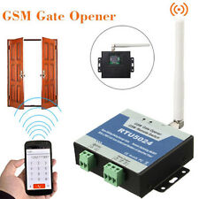 GSM Gate Opener Wireless Door Free Call Remote Control By Smart Phone RTU5024