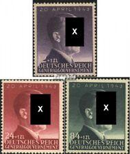 Algemeen 101-103 postfris 1943 Verjaardag