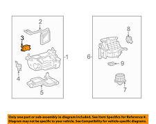 TOYOTA OEM Heater-Servo 8710660110