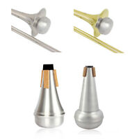 Aluminum Alloy Trumpets/Tenor trombone Mute For Jazz Instrument Practice