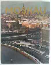 MOSKAU VINTAGE 1975 PHOTOGRAPHY TRAVEL & CULTURE HARDCOVER ART BOOK IN GERMAN