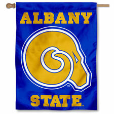 Albany State Golden Rams Two Sided House Flag