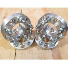 "5x100 to 5x115 USA Wheel Adapters 1"" Subaru 56.1mm Bore 12x1.25 Stud x 4 Spacers"