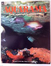 AQUARAMA, Revue Aquariophile n°90; Les récifs coalliens/ Escargot/Roses des eaux